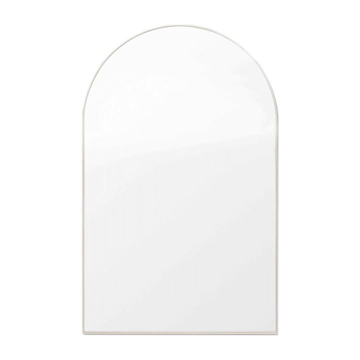 Middle of Nowhere Mirror Bjorn Arch Slim Mirror, Dove