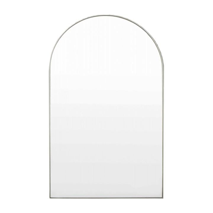 Middle of Nowhere Mirror Bjorn Arch Slim Mirror, Silver