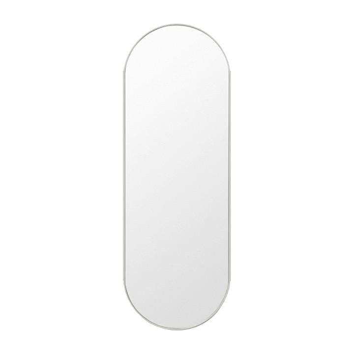 Middle of Nowhere Mirror Bjorn Oval Mirror Large, Dove