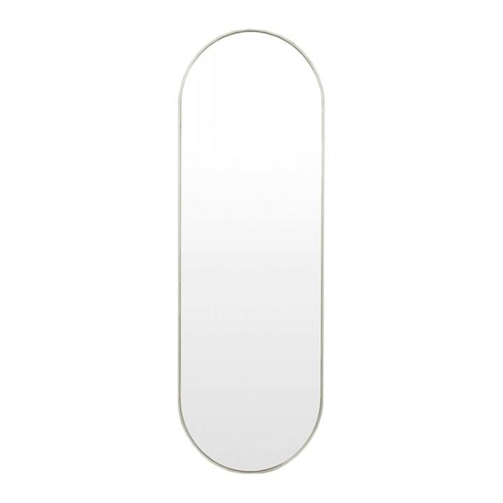 Middle of Nowhere Mirror Bjorn Oval Mirror Large, Silver