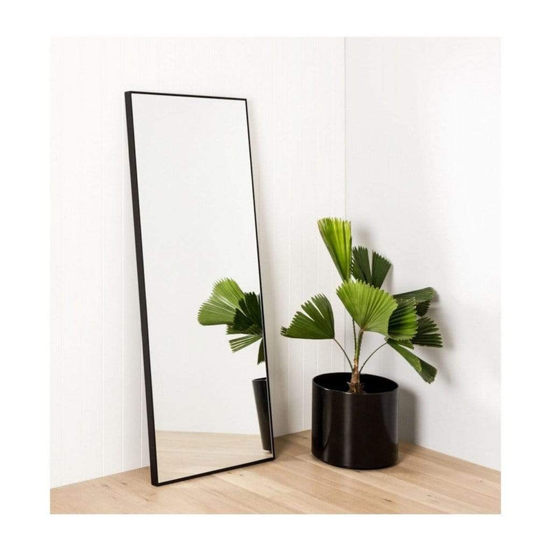 Middle of Nowhere Mirror Flynn Leaner Mirror - Black