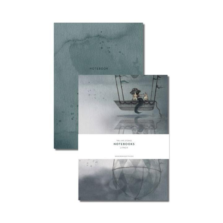 Mrs. Mighetto LP Artwork Notebooks 2-Pack Flying Boat