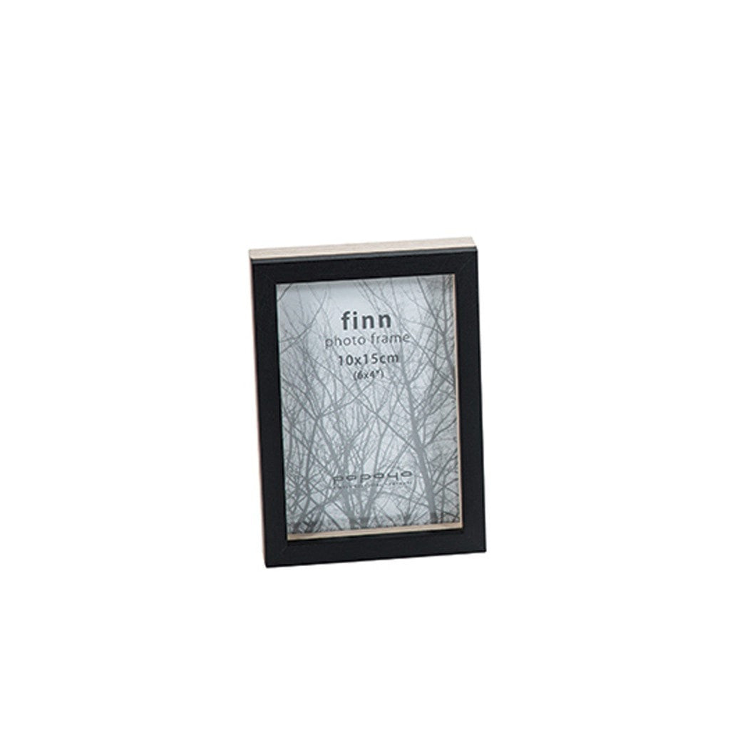 Papaya home decor Finn Narrow Photo Frame Small Black