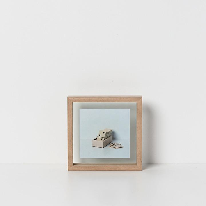 Papaya Photo Frame Medium Theo Photo Frame - Natural