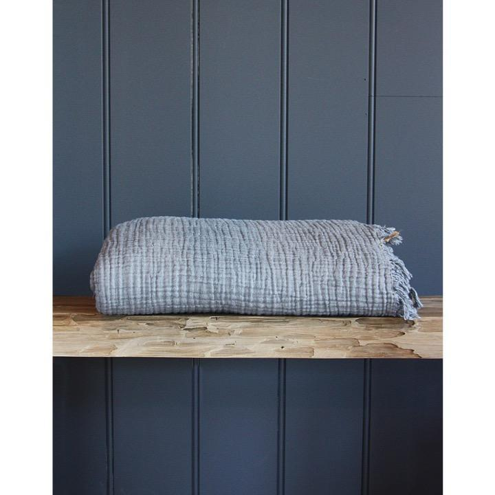 Saardé Home Bed Linen + Towels Enes Bed Cover in Charcoal
