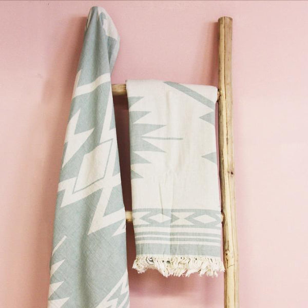 Saardé Home Towels Sage Echo Beach Towel