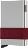 Secrid Accessories Secrid Cardslide - White/Bordeaux