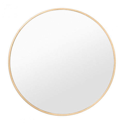 Warranbrooke Mirror Bella Round Mirror Brass