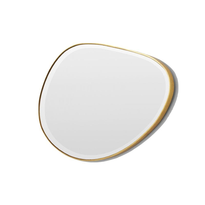 Warranbrooke Mirror Pebble Mirror 120x70, Brass