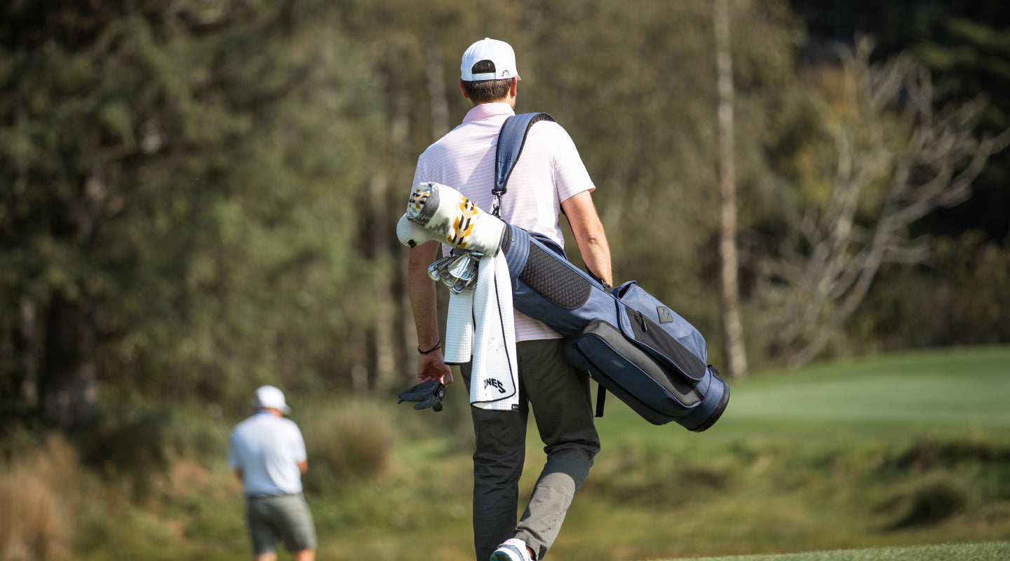 Jones Sports Co. Utility Rover Carry Bags for the walking golfer.