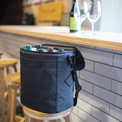 Utility FC Cooler/Wine Carrier - Black Tarpaulin