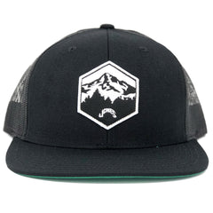 Jones Mt. Hood Wool Mesh Snapback - Black