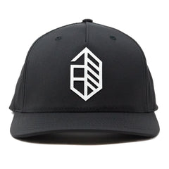 Athletic Utility Snapback Curved- Black