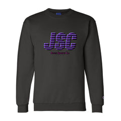 JSC Champion® Sweatshirt - Black/Pink