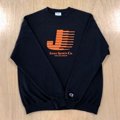 Flying J Champion® Sweatshirt - Black/Orange