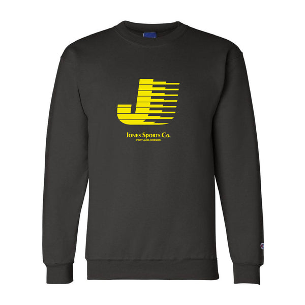 Flying J Champion® Sweatshirt - Black/Yellow