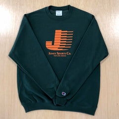 Flying J Champion® Sweatshirt -Dark Green/Orange