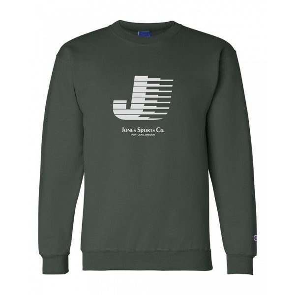 Flying J Champion® Sweatshirt -Dark Green/Silver
