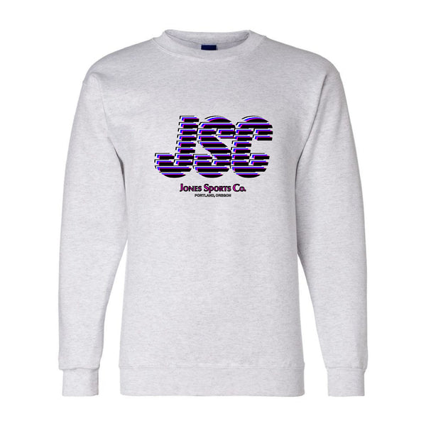 JSC Champion® Sweatshirt - Gray/Pink