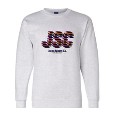 JSC Champion® Sweatshirt - Gray/Yellow