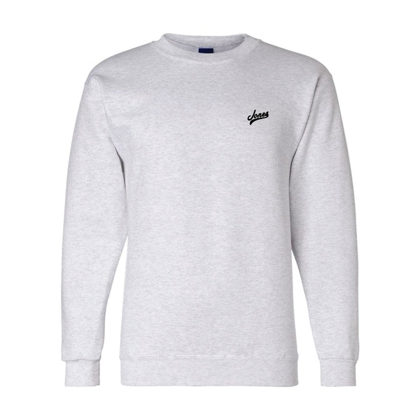 Jones Champion® Sweatshirt - Heather Gray