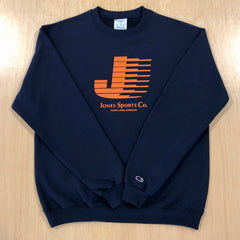 Flying J Champion® Sweatshirt - Navy/Orange