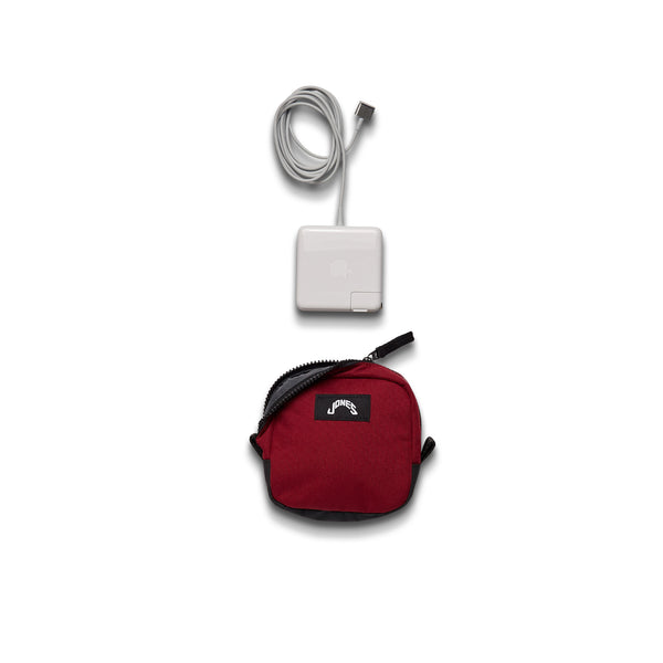 Jones Charger Pouch - Burgundy