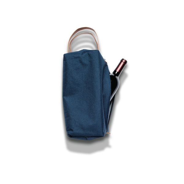 Co-Pilot Wine Bag - Heather Navy