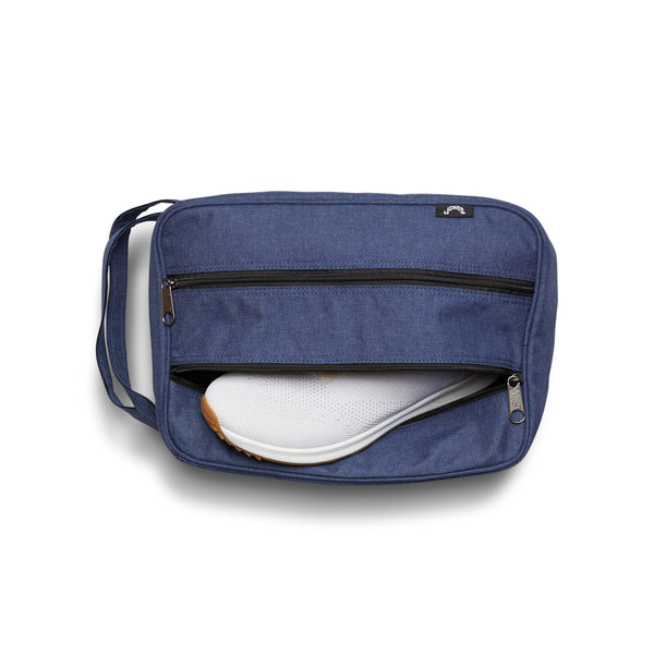 Jones Classic Shoe Bag - Heather Navy