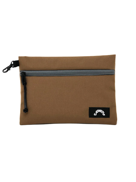 Jones Zipper Pouch - Brown