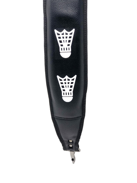 Tatted Black Vinyl Shoulder Strap - Birdies