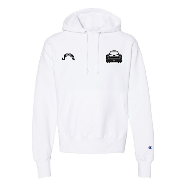 Jones Small Taxi Cab 50th Anniversary Hoodie