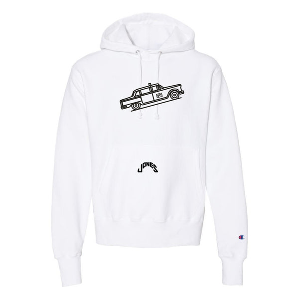 Jones Taxi Cab 50th Anniversary Hoodie