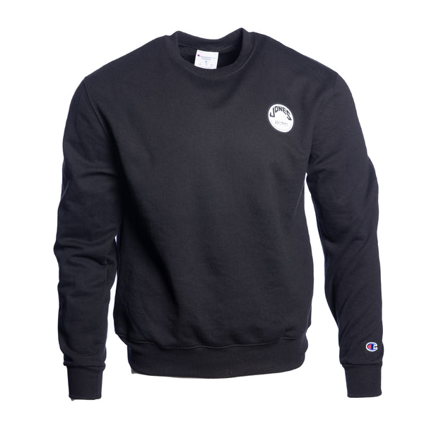 Jones Circle Patch Champion® Sweatshirt - Black