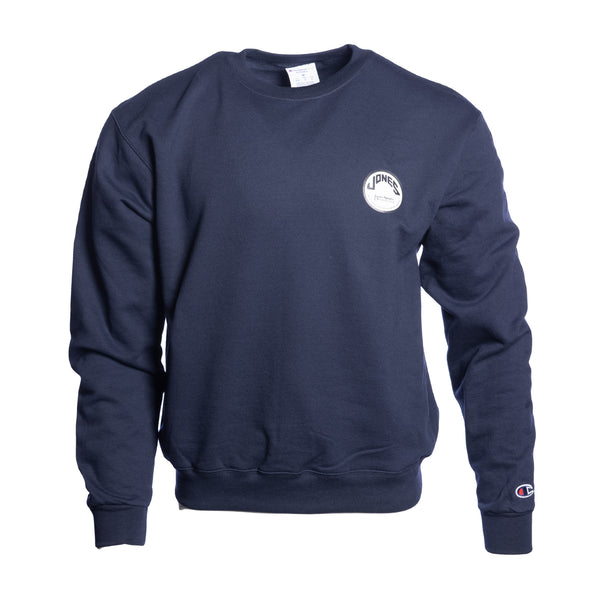 Jones Circle Patch Champion® Crewneck - Navy