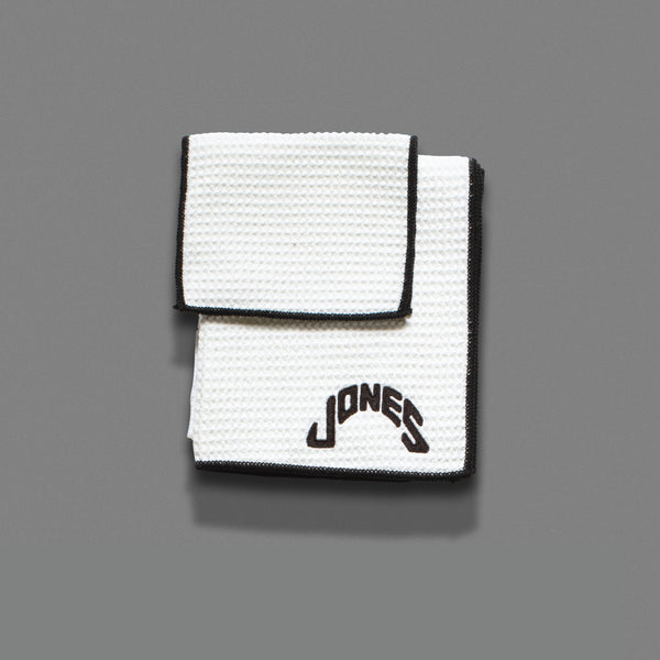Jones Microfiber Towel - White
