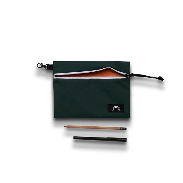 Jones Zipper Pouch - Forest Green