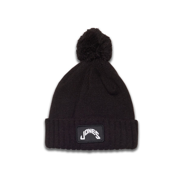 Jones Patch Beanie - Black
