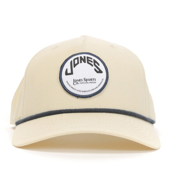 Jones Circle Patch Rope Hat - Sand