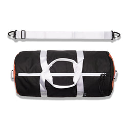 Varsity Duffle - Black / Orange