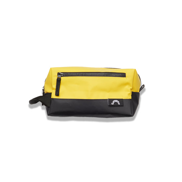 Jones Dopp Kit - Yellow / Black Tarpaulin