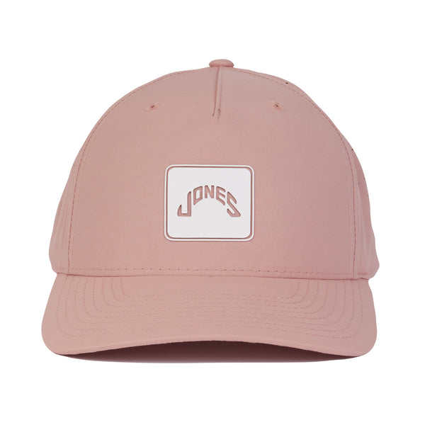 Athletic Square Patch - Dusty Pink
