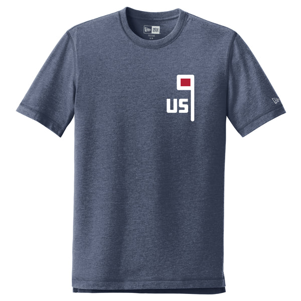 New Era US Flag Tee - Navy