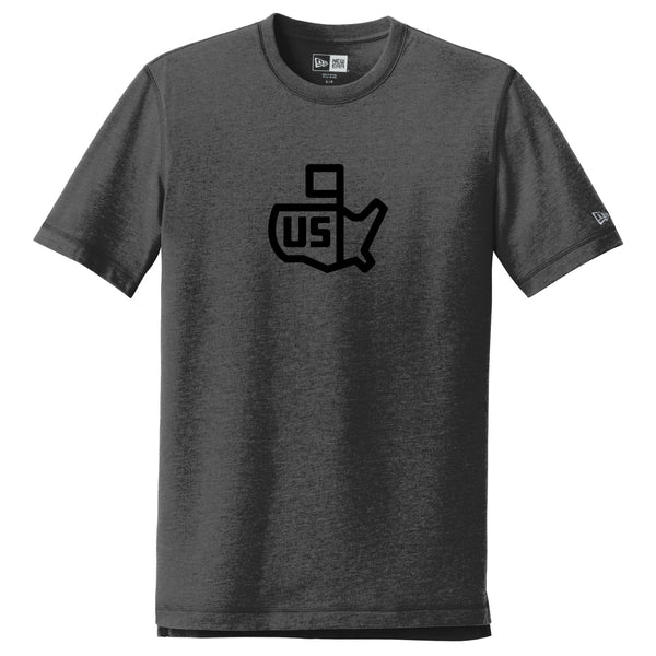 New Era US Icon Tee - Heather Black