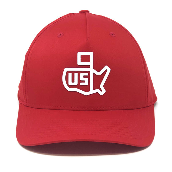 9e14fe6e Headwear. US Icon Athletic Snapback - Red
