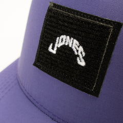 Athletic Velcro Patch - Purple