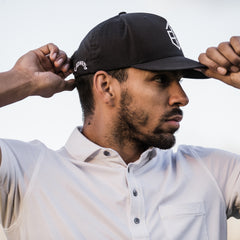 Athletic Utility Snapback - Black