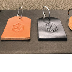 Utility Leather Tag