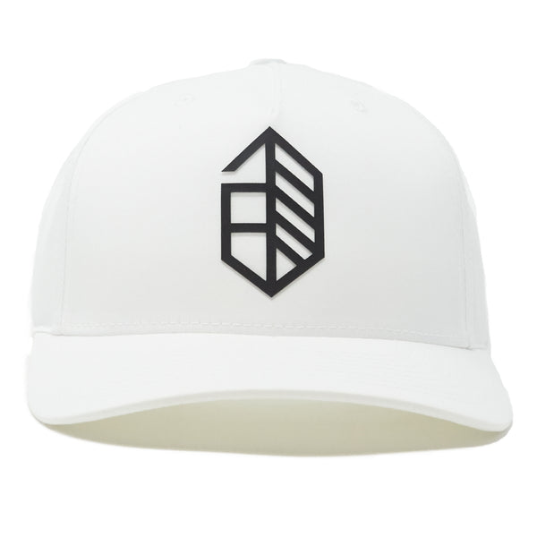 Athletic Utility Snapback Curved- White