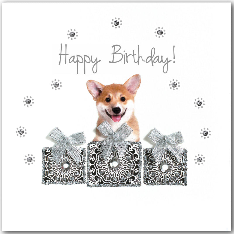 Birthday Corgi - L1790